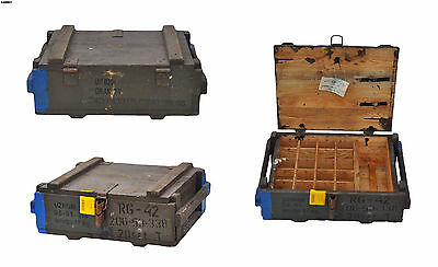 Original wooden ammo case box from Polish Army (50)