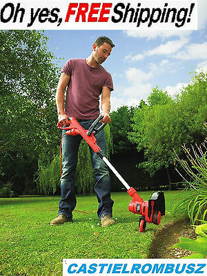 Garden Strimmer electric Corded Grass Weed high-performing 550W BLACK&DECKER