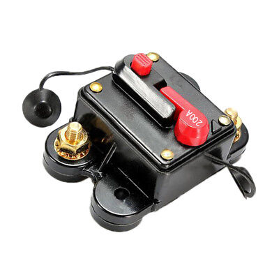 200A AMP Circuit Breaker Car Marine Stereo Audio Inline Replace Fuse 12V-24V DP
