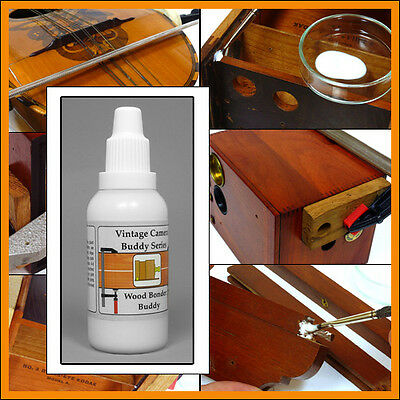 Vintage camera translucent wood repairing glue 35ml for Kodak Rochester Ensign