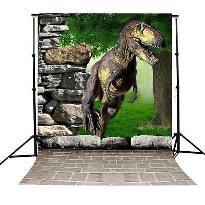 3x5Ft Photography Background 3D Dinosaur Children's Theme Backdrop For Prop New