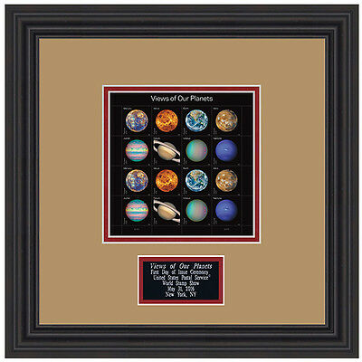 USPS New Views of Our Planets Framed Art