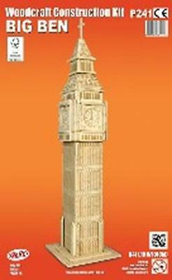 Big Ben - Woodcraft Construction Kit - FSC Wooden Model Kit-Quay- Ages 7+ NEW