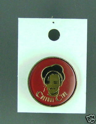 Rare Vintage Culture Club Red Enamel Pin