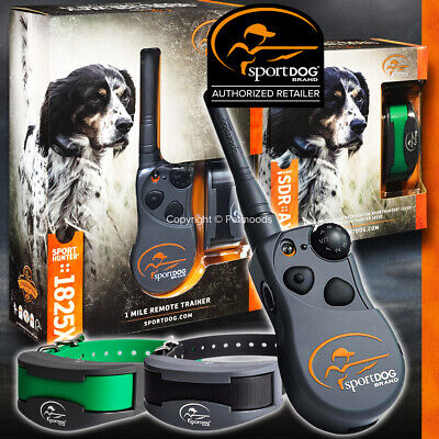 SportDOG SD-1825 Sport Hunter Remote 2 Dogs Trainer with SDR-A Waterproof Collar