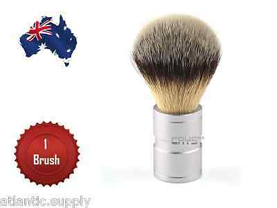 Men's Silvertip Style Synthetic Badger Hair Quality Shaving Brush - Aus Seller