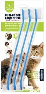 Animal long pet cat dog tooth brush dental care for pets toothbrush toothbrushes