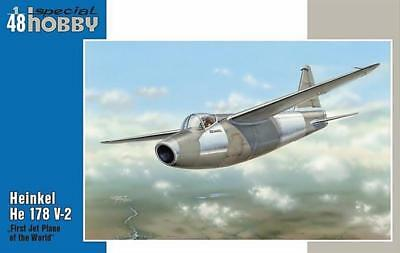 "SPECIAL HOBBY 48093 Heinkel He 178 V-2 ""First Jetplane of the World"" 1:48"