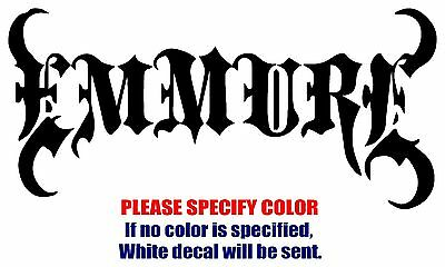 EMMURE BAND Rock Music JDM Vinyl Decal Car Sticker Window bumper Laptop 7""