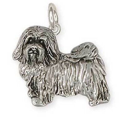 Havanese Dog Charm Jewelry Sterling Silver - HV6-C