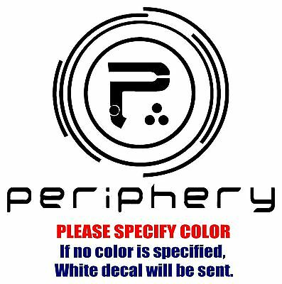PERIPHERY band Rock Music JDM Vinyl Decal Car Sticker Window bumper Laptop 7""