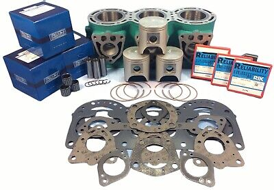 K919 Kawasaki 900 Cylinder Std Bore 73Mm & Wsm Top End Rebuild Kit Zxi Stx Sts