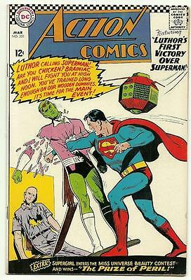 Action Comics # 335  Nice Superman [Guide Very Fine $48]