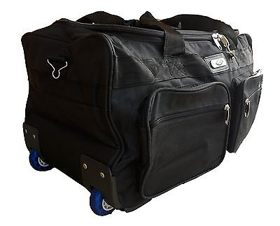 "JIO 23"" Wheeled Travel Luggage Carry On Bag Duffle Bag Sports Grip Bag 52 Litres"