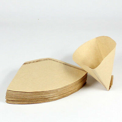 40 x Expresso cup Coffee Machine Maker Paper Filter Paper Fit 4 - 8 cups #104N