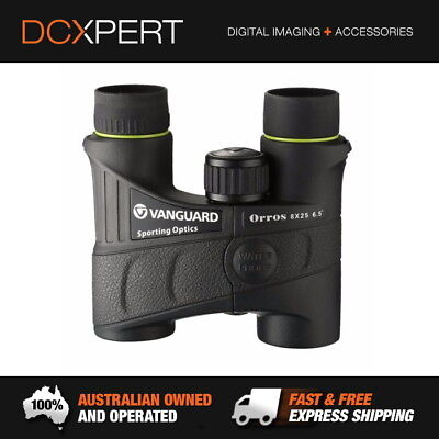 Vanguard Orros 8X25 Binoculars – Waterproof And Fogproof