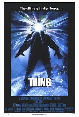 "THE THING (1982) Movie Poster [Licensed-New-USA] 27x40"" Theater Size [CARPENTER]"