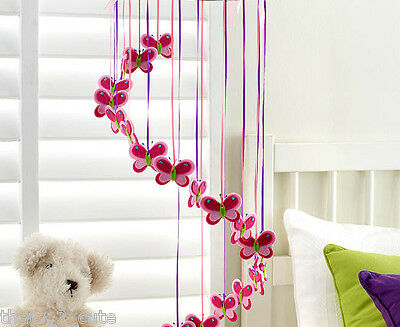 Rouge Living Butterfly Baby Mobile, Nursery Mobile
