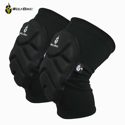 Skating Strength Heavy Duty Knee Pads Protection Sports Leg Knee Patella Support