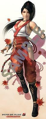 Dead or Alive 5 Ultimate Momiji Life Size Tapestry Wall Scroll Koei Tecmo Games