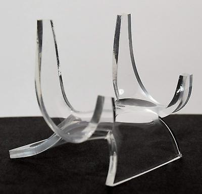 Acrylic Display Stand Pedestal for Crystal Heart / Slice / Slab and other Stones