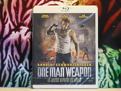 Blu Ray neuf sous blister : Film : ONE MAN WEAPON - La justice reprend les armes