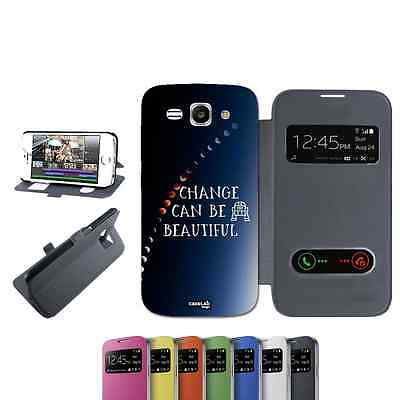 Cover Libro Change Your Life Per Huawei Ascend Y540 Nero