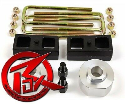 """1983-1996 Ford Bronco II 4WD 4x4 2"""" Front + Rear Complete Level Lift Kit"""