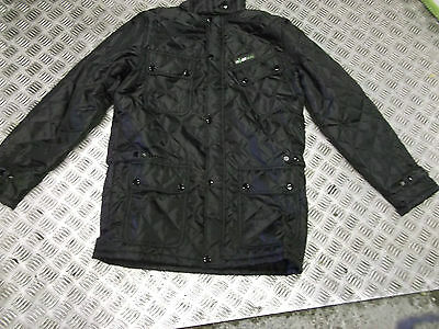 HEATED PADDED JACKET BATTERY POWERED BRAND NEW black