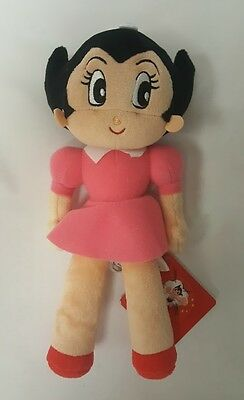 "Tezuka Productions Astro Boy: Uran Plush 9 "" plush stuffed Toy Japanese anime"