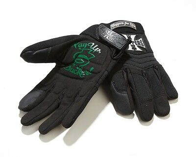 West Coast Choppers Pay Up Sucker Riding Gloves! Brand New!