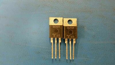(2 PC) S6040R TECCOR Thyristor SCR 600V 520A 3-Pin(3+Tab) TO-220AB Non-Isolated