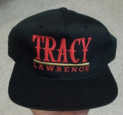Tracy Lawrence hat VINTAGE Snapback DS new not worn RARE Country Singer Western