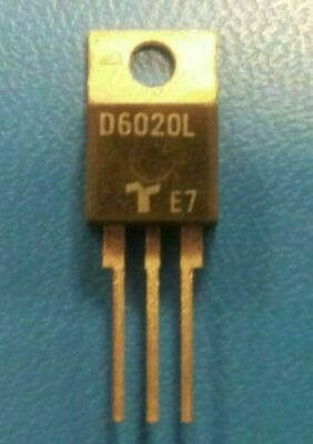 (5 PCS) D6020L TECCOR Diode Switching 600V 12.7A 3-Pin(3+Tab) TO-220AB Isolated