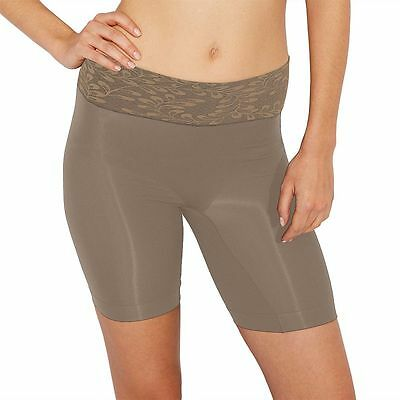 NWT Jockey Skimmies Luxe Lace Slipshort thigh shaper slimming High Seamless 2112
