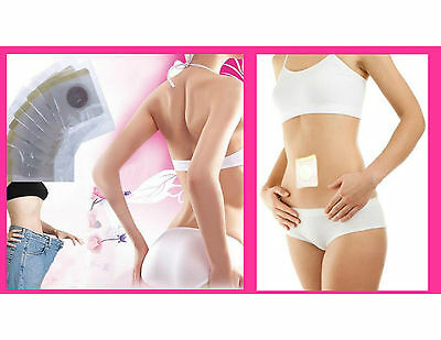 Magnetic Slim Slimming Patch Diet Weight Loss Detox Adhesive Pads Burn Fat UK