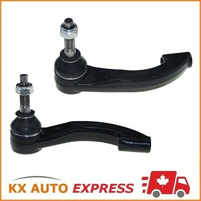 2X Front Outer Tie Rod End For Plymouth Breeze 1996 1997 1998 1999 2000