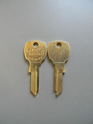 2 National CompX  4 Pin Key Blanks- For Codes 3000PS-3999 PS - D4300