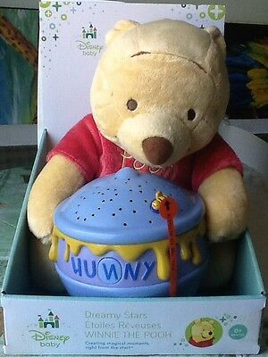 Winnie the Pooh Baby Dreamy Star Soothers Night Light Brand NEW