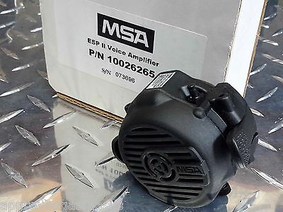 MSA ESP II / ESP 2 Millennium Gas Mask / Advantage 1000 Respirator Voice Amp NEW
