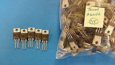 (10 PCS) D6015L TECCOR Diode Switching 600V 9.5A 3-Pin(3+Tab) TO-220AB Isolated
