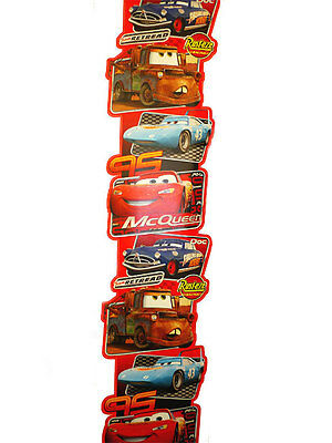 Bordo Adesivo Gigante Decorazione Parete Muro Camera Bimbo Disney Cars McQueen