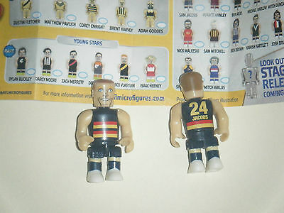 AFL Micro Figures 2016 - Stage 2 - Classic - Sam Jacobs - Adelaide Crows
