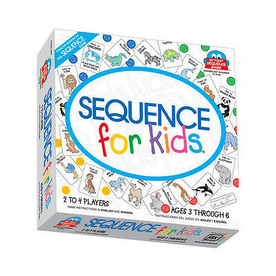 Sequence For Kids Board Game Get 4 in a row Sequence and Win