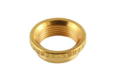 Deep Nut for 3-Way Switchcraft Guitar Toggle Switches • Gold