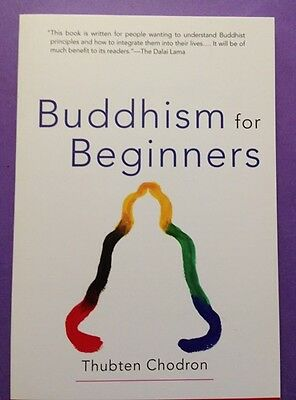 BUDDHISM FOR BEGINNERS-ISBN 9781559391535 by Thubten Chodron