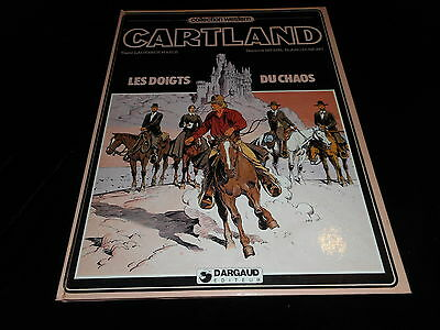 Harle / Blanc-Dumont : Jonathan Cartland : Les doigts du chaos EO Dargaud 1982