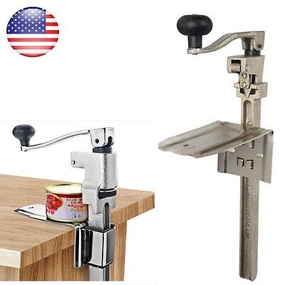 Heavy Duty Table Bench Clamp Can Opener 11in /Commercial Kitchen Restaurant Chef
