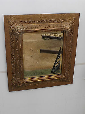 Georgian Mirror in superb gesso frame