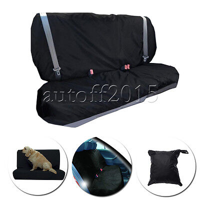 2 In 1 Waterproof Car Rear Back Seat Cover Pet Dog Protect Boot Mat Liner Nylon